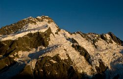 Mt Sefton in New Zealand Stock Image