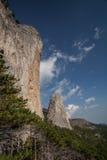 Mt Shaan-Kaya, Crimée photos stock