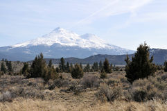 Mt. Shasta Royalty Free Stock Photo