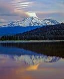 Mt shasta Photographie stock libre de droits