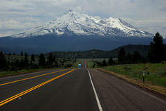 MT shasta Stock Foto's
