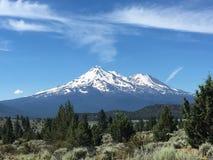 Mt shasta Foto de archivo libre de regalías