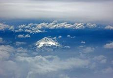 Mt Shasta vulkan Arkivbild