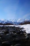 Mt. Shiroumadake, Nagano Japón imagen de archivo libre de regalías