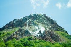 Mt.Showa Shinzan Stock Image