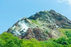 Mt.Showa Shinzan. View of Mt.Showa Shinzan, The great alive volcano in Hokkaido Japan Stock Photography