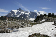 Mt Shuksan Stock Photo