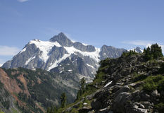 Mt Shuksan. Bellingham Washington USA Stock Photography