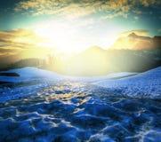Mt Shuksan Royaltyfri Foto