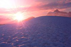Mt Shuksan Obrazy Royalty Free