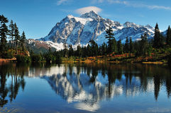 Mt Shuksan Royalty Free Stock Photos