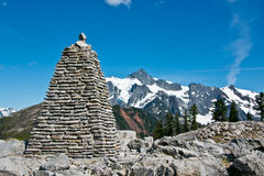 Mt Shuksan Arkivbilder