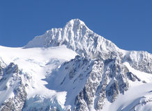 Mt Shuksan Covered in Snow. Stock Image
