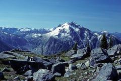 Mt Shuksan del rastro de cobre de Ridge foto de archivo