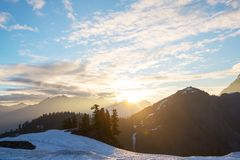 Mt.Shuksan Stock Photography
