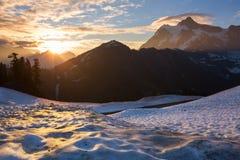 Mt.Shuksan Royalty Free Stock Photos