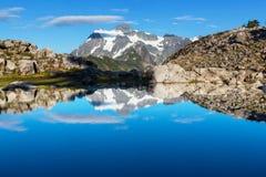 Mt.Shuksan Stock Image