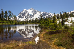 Mt.Shuksan, North Cascade National Park in Washington Stock Image