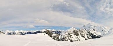 Mt Shuksan panaramic view Stock Images