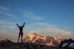 Mt.Shuksan Royalty Free Stock Photo