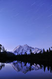 Mt. Shuksan Starry Night Royalty Free Stock Image