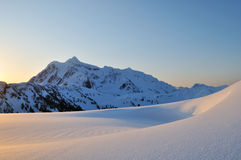 Mt Shuksan Sunrise Stock Photography