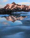 MT Shuksan, Washington State royalty-vrije stock afbeelding