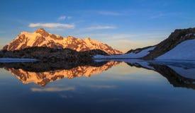 Mt Shuksan, Washington State Stockfotografie
