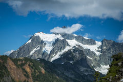 Mt Shuksan, Washington state Cascades Royalty Free Stock Photos