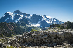 Mt Shuksan, Washington state Cascades Stock Images