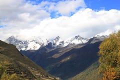 Mt Siguniangshan Fotografía de archivo