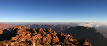 Mt Sinaí imagen de archivo libre de regalías