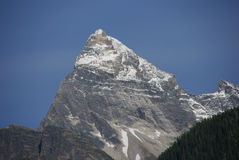Mt Sir Donald, with blue sky, Royalty Free Stock Image