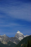 Mt Sir Donald, with blue sky,Rogers Pass Royalty Free Stock Photography