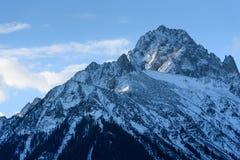 Mt. Sneffels in the Colorado San Juan Range. Colorado Rocky Mountains - Mt. Sneffels in the San Juan Range royalty free stock photos