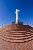 Mt. Soledad christian cross in La Jolla, CA US Stock Image