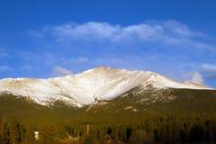 Mt som är mer meeker i Rocky Mountain National Park Arkivbild