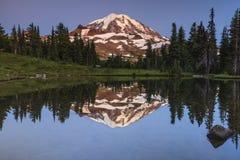 Mt. Sosta nazionale più piovosa Fotografia Stock Libera da Diritti