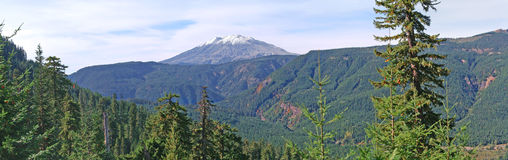 Mt St Helens - East Side Panorama Royalty Free Stock Photography