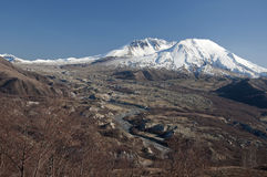 Mt. St. Helens land slide Stock Images