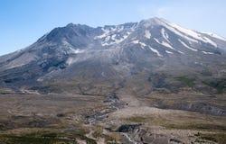 Mt St Helens på en solig dag Fotografering för Bildbyråer