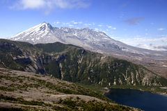 Mt. St. Helens and Spirit Lake Stock Images