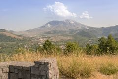 Mt. St. Helens landscape in Summertime. Stock Photography