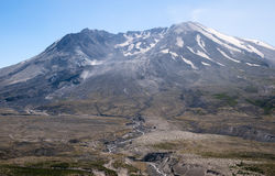 Mt St Helens at a sunny day Stock Image