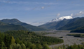 Mt St Hellens Washington Royalty Free Stock Photo