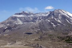 Mt.-Str. Helen WA. Lizenzfreies Stockfoto