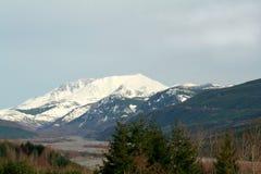 Mt.-Str. Helens und Tal Lizenzfreies Stockfoto