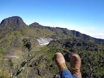 Mt sumbing sikt Royaltyfri Fotografi