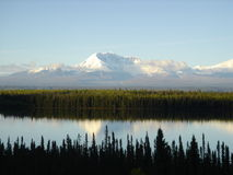 Mt. Susitna Royalty Free Stock Images