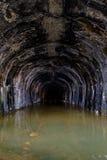 Mt Túnel de madera - ferrocarril terminal que rueda - que rueda, Virginia Occidental Imágenes de archivo libres de regalías